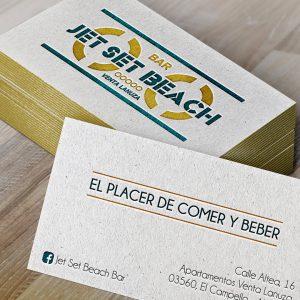 disseny d'impremta a València targetes