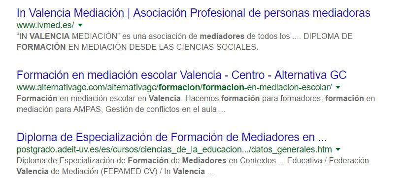 consultoría SEO - redacción SEO Valencia - agencia de comunicación corporativa Alicante
