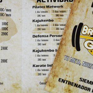 Diseño de flyers para The Brothers Gym El Campello - Agencia de publicidad y estudio de diseño en Alicante Sàrsia Publicitat Alacant