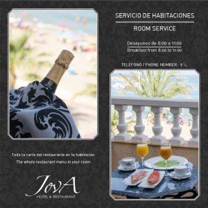 diseño de flyer para hotel Campello - estudio de diseño gráfico Alicante