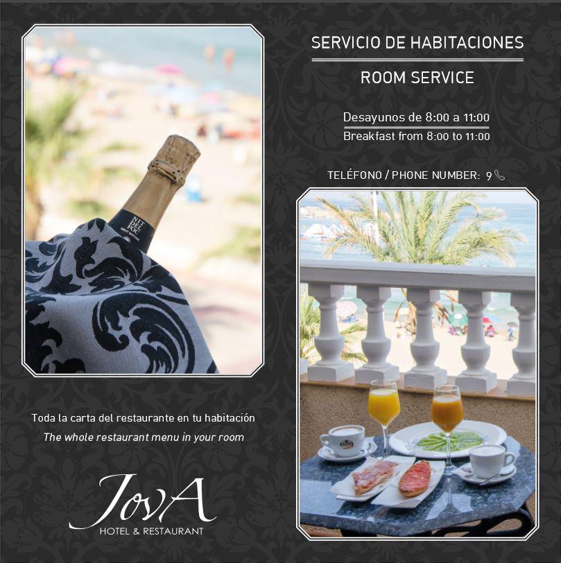 Design de flyer pour l'hôtel Campello