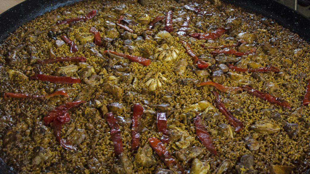 paella casera en El Campello