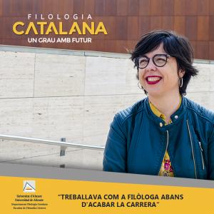 campaña de publicidad instagram Alicante filologia catalana - fotografía, diseño y promoción