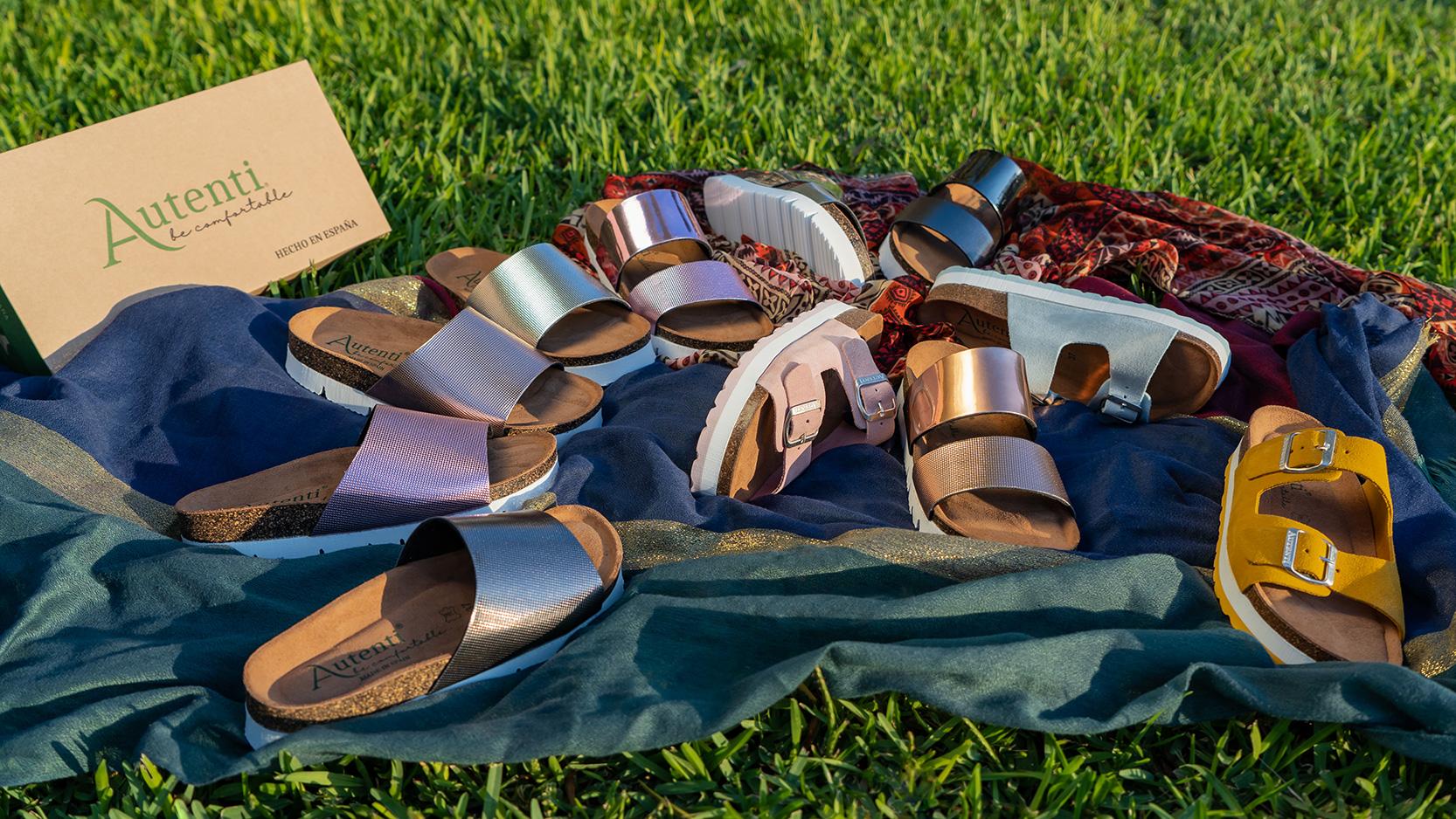 Photographie de produit pour la marque de chaussure d'Elche Autenti