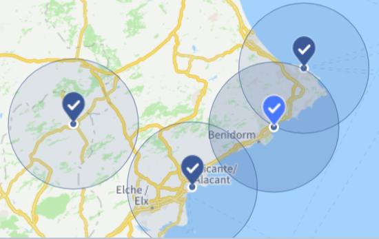 público publicidad en redes sociales para almacenes de construcción BigMat - Alicante - Marina - Yecla
