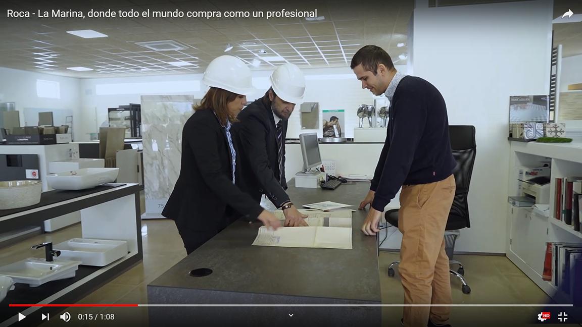 Producció d'espot publicitari per a BigMat Roca - La Marina