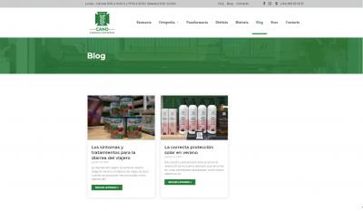 Diseño Blog Web Campello