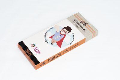 """Diseño de packaging en Alicante para """"Mejor con chocolate"""""""