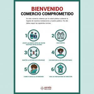 cartel normas de higiene señales de seguridad