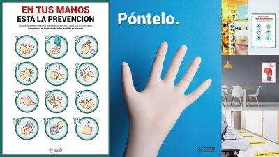 Tipos de diseño de señalización de seguridad que producimos en nuestra agencia de publicidad