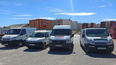 2020 rotulación de furgonetas en Alicante para empresas de construcción - Estudio de diseño Sarsia