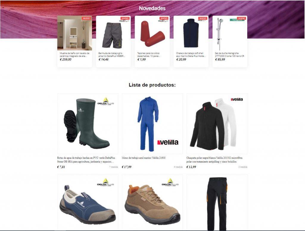 Creación de tienda en Amazon y AliExpress para almacén de construcción - Sàrsia Publicitat