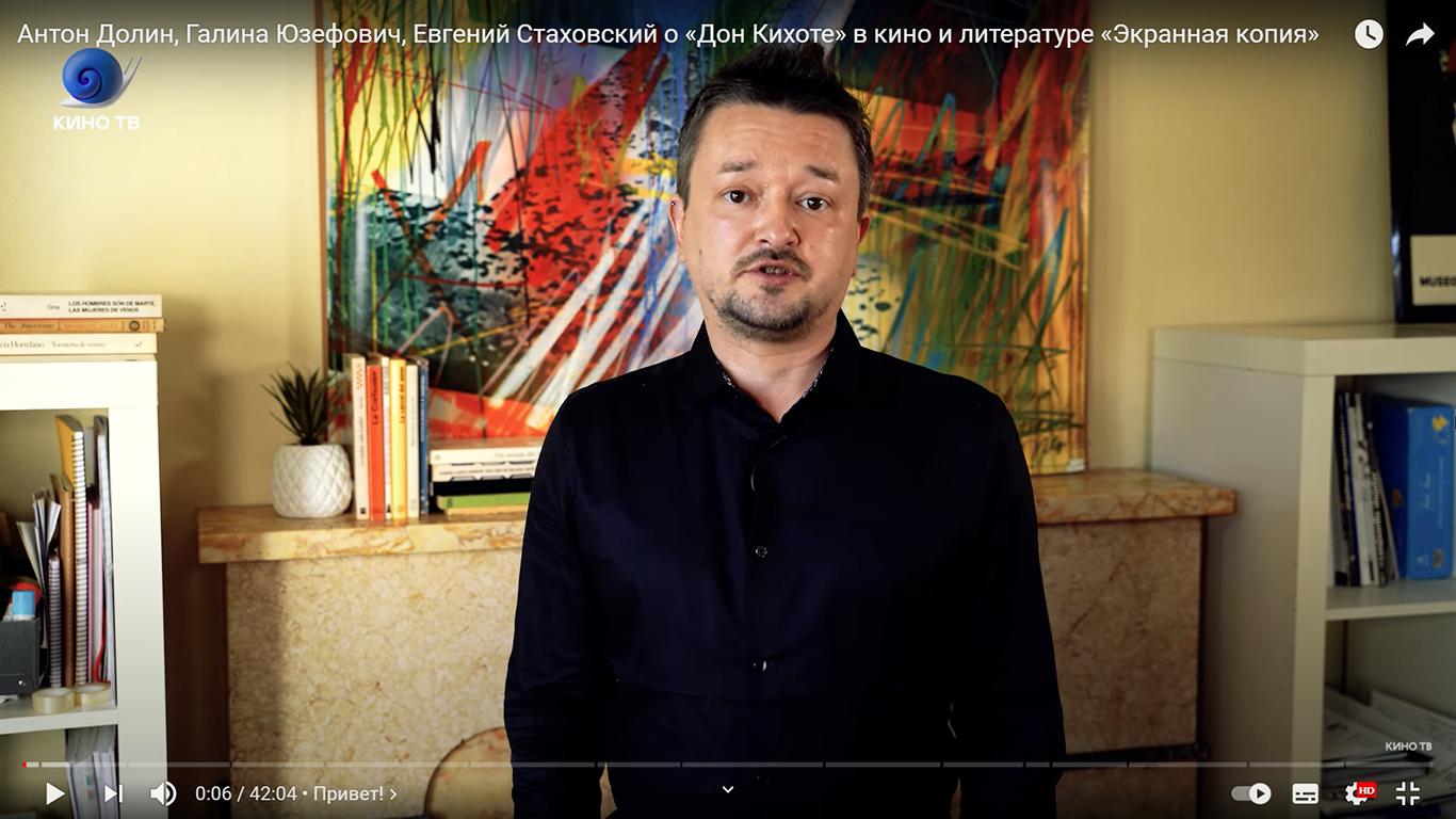 Grabación de monólogo para televisión - KinoTV