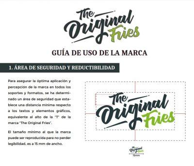diseño de marca en granada original fries